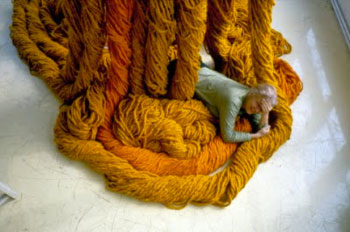 Sheila Hicks in Yarn