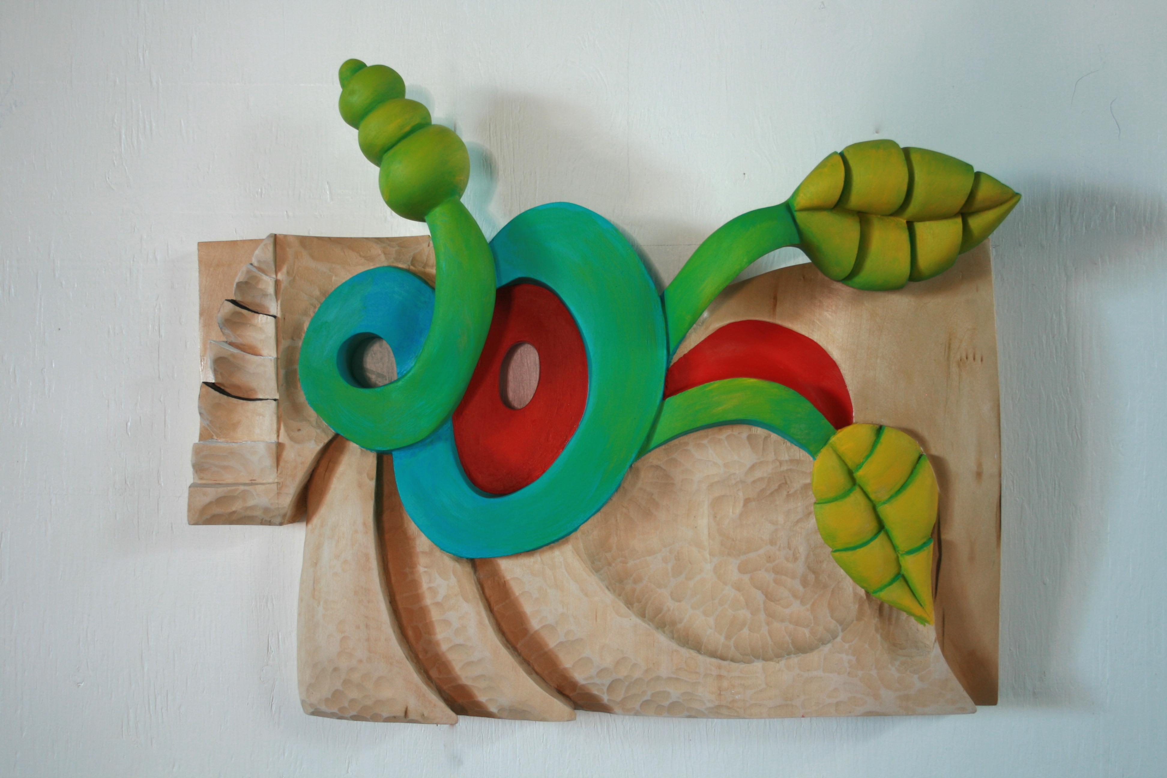 Bouyant 15x20x5 wood,paint