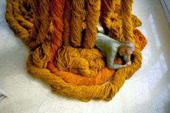 Sheila Hicks in Yarn