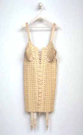 Girdle (made from rubber bath mats)