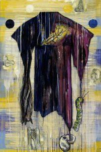4. Celestial Circle 2004, oil on canvas, 72 x 48
